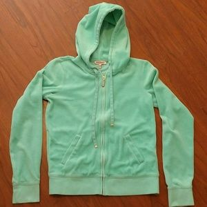 Juicy Couture Woman's Jacket Medium Light Green